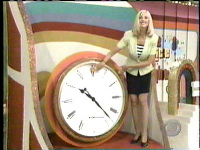 Janice Pennington With a Clock
