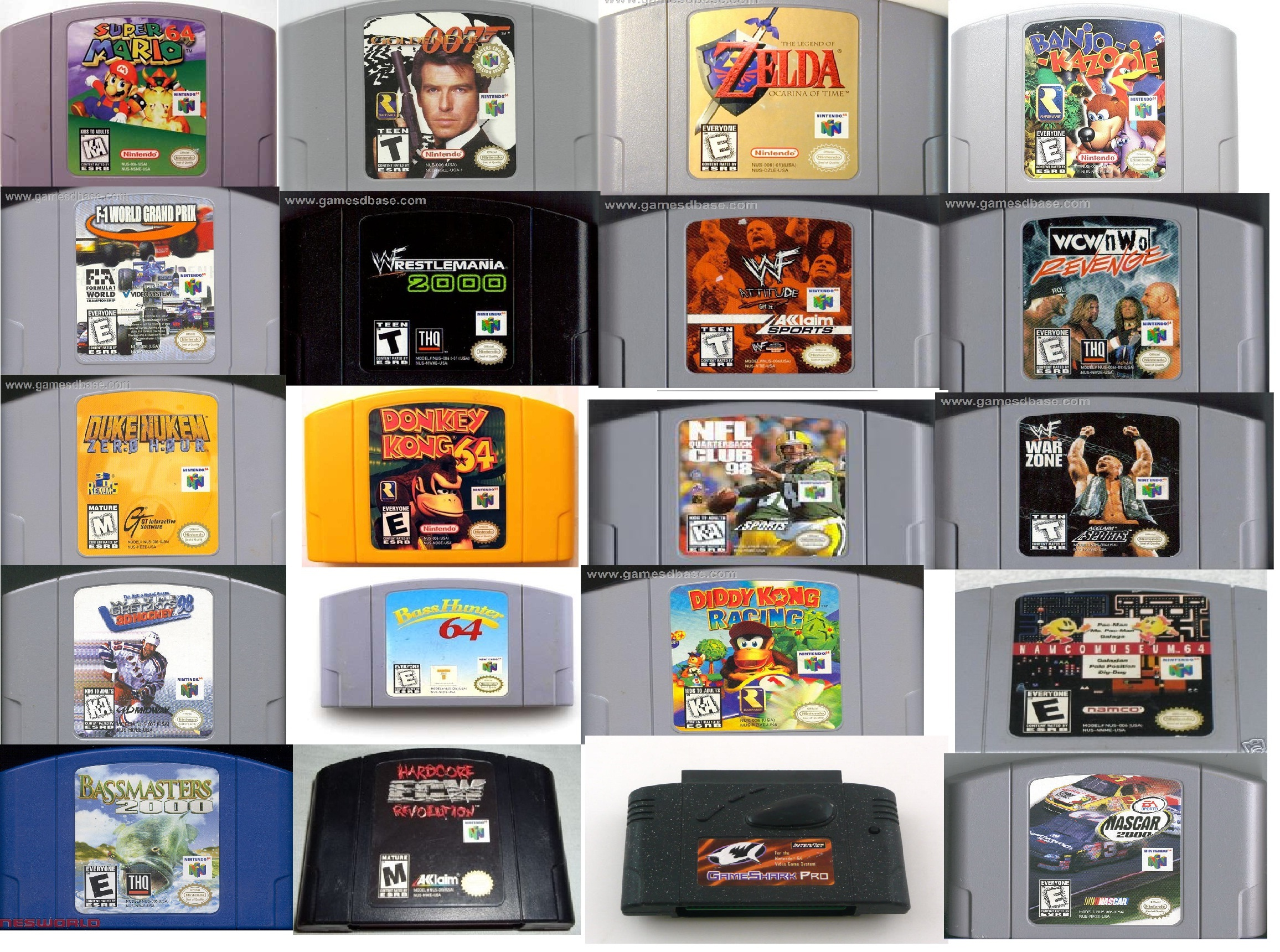 Games for the Nintendo 64