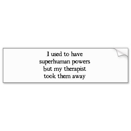 I USED TO HAVE SUPER POWERS