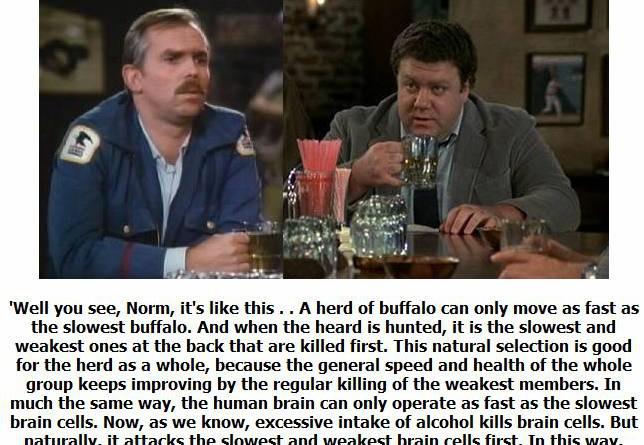 Cliff, Norm and Beer