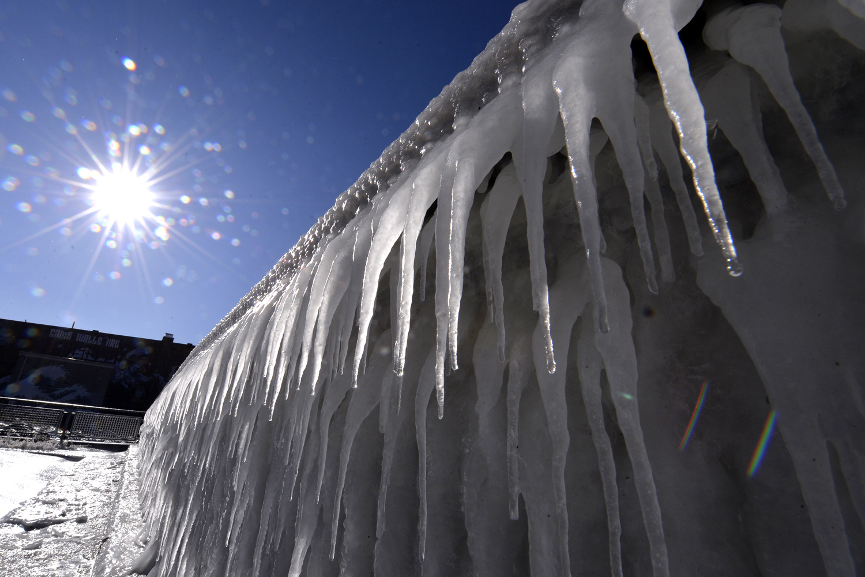 Polar vortex hits NYC