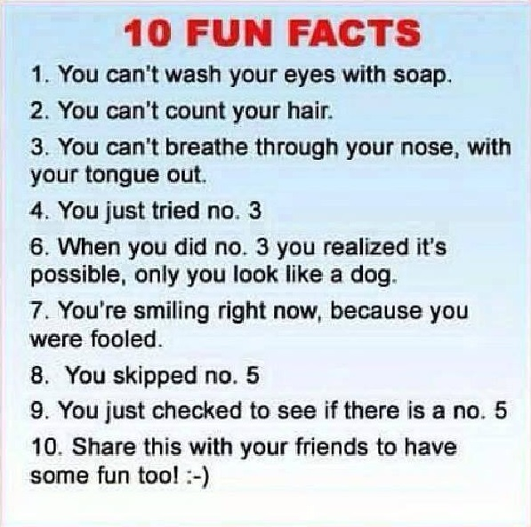 Ten Fun Facts