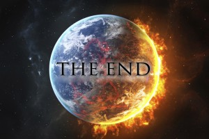 The end of the world may be near…..