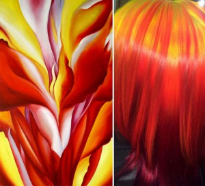 Red Canna Lily by Georgia O'Keefe