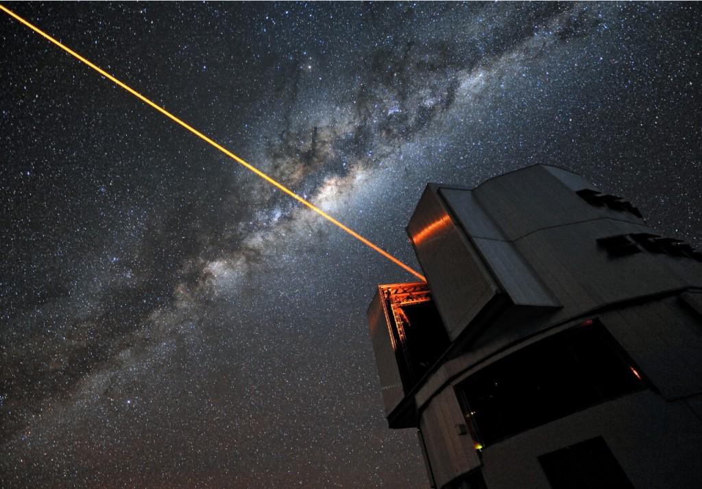 Laser Beam as Earth Cloak