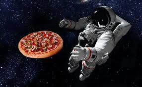 Pizza Hut in space