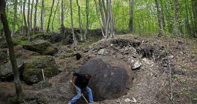 Mystery Stone Ball found in Bosnia