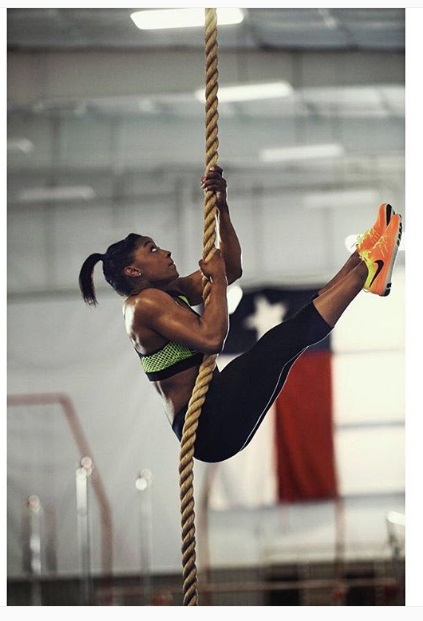 Olympian Gold Medallist Simone Biles work out