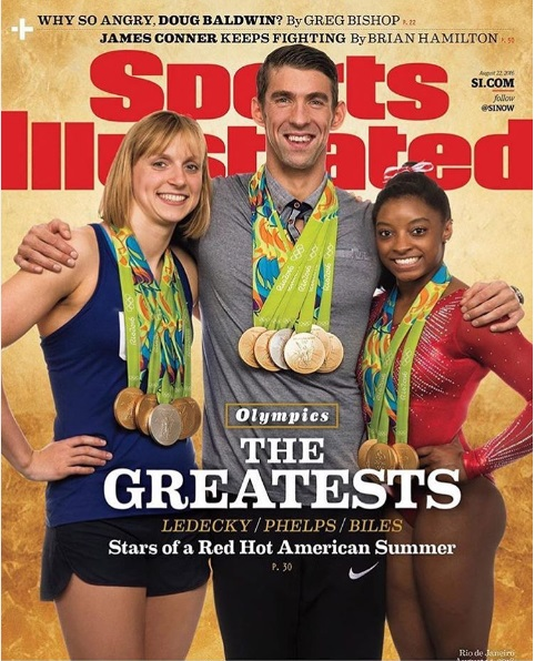 Simone Biles in Sports Illustrated