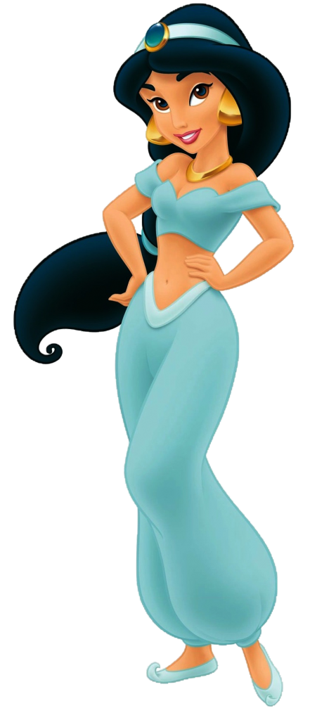 Princess Jasmine in Blue