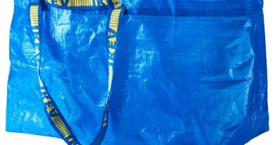 Ikea Blue Tote Bag