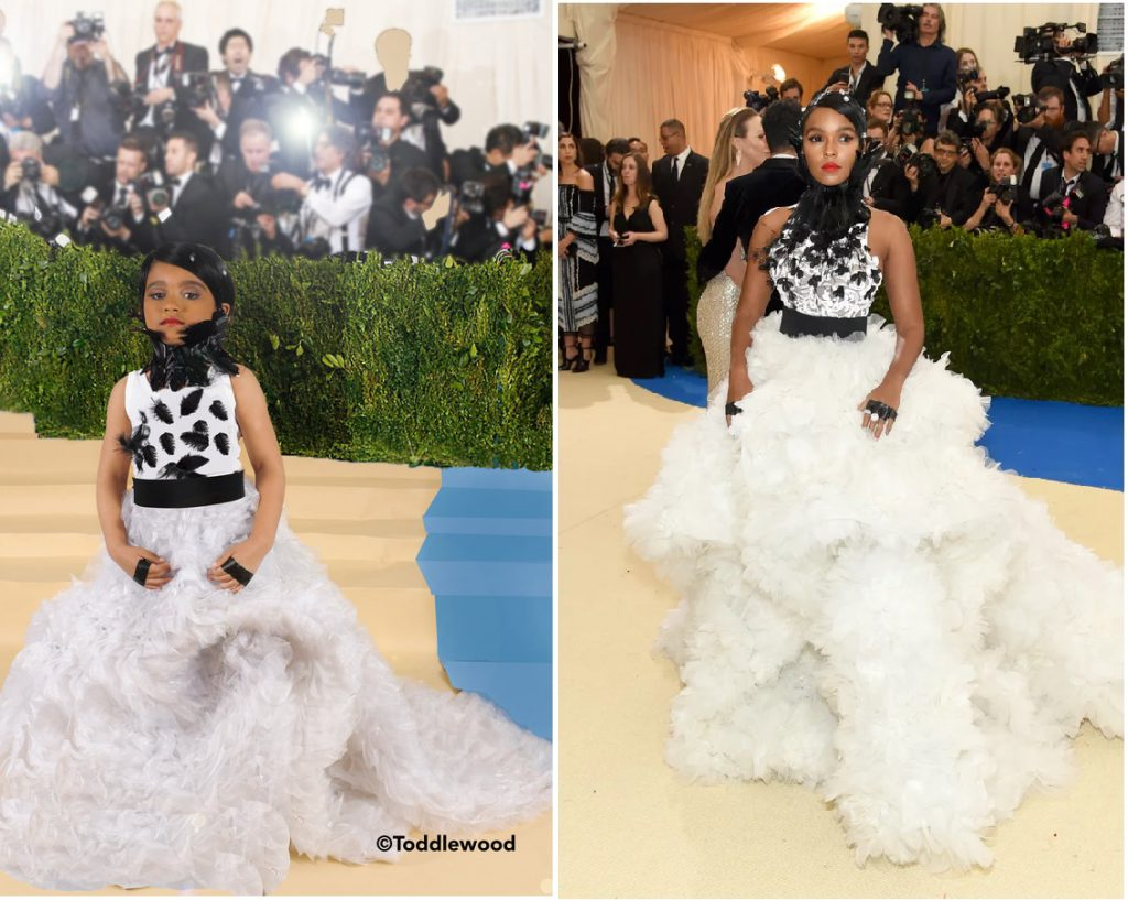 Janelle Monae's look at the 2017 Met Gala.