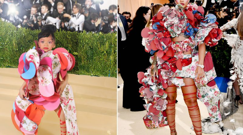 Rihanna's look at the 2017 Met Gala.