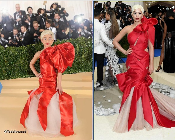 Rita Ora's look at the 2017 Met Gala.