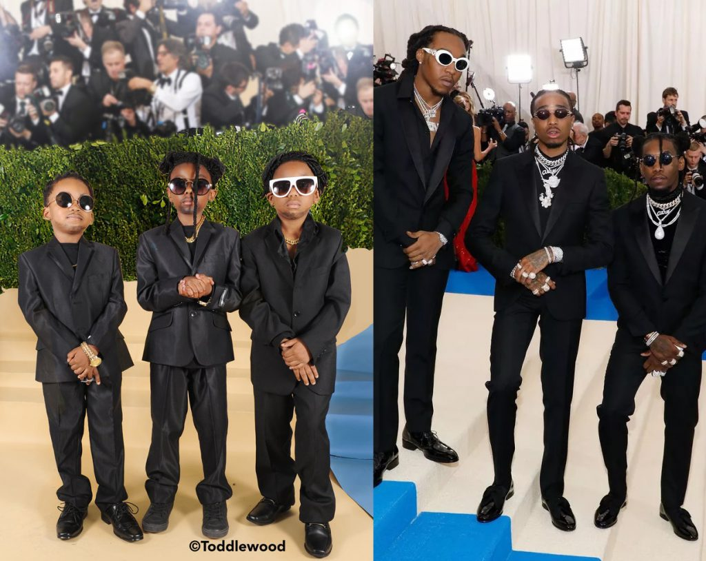 Migos' look at the 2017 Met Gala.