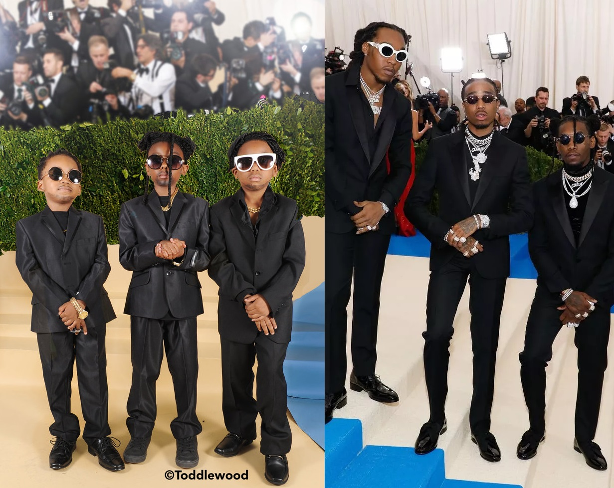 These Met Gala Looks Recreated By Kids Are Adorable