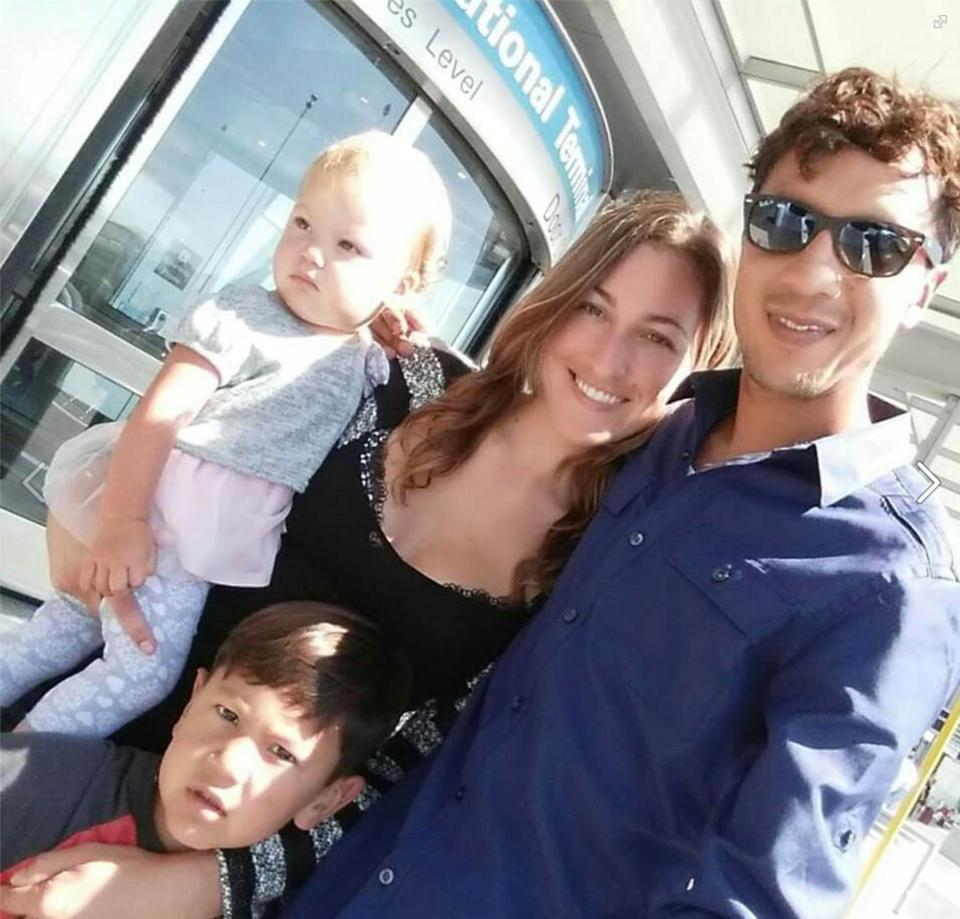 Breatharian couple and their kids