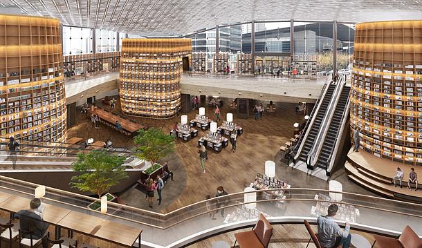 Starfield Library inside COEX mall