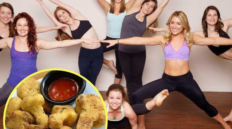 Chicken Nugget Yoga