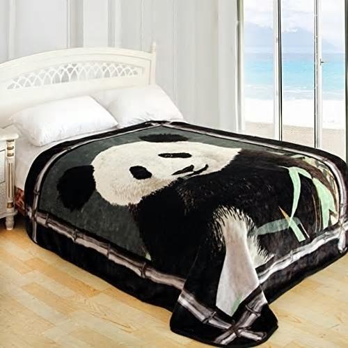 Panda blanket