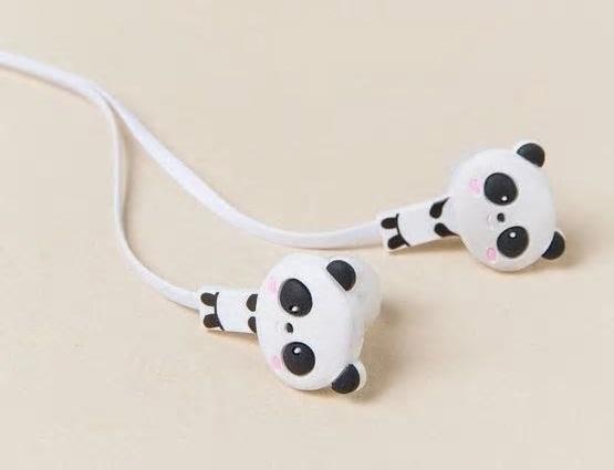 Panda earbuds