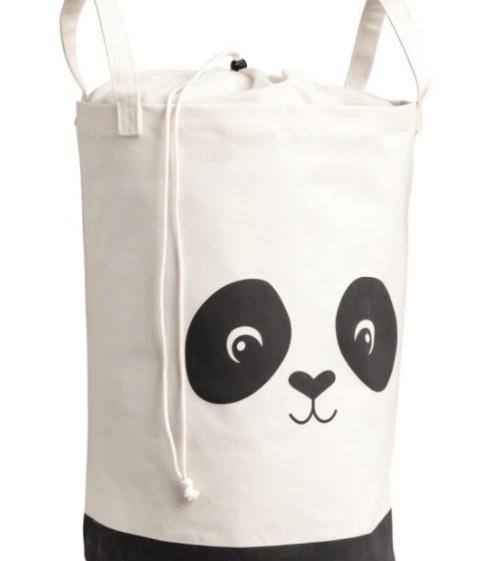 Panda laundry bag