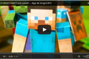 Minecraft Paper Cutouts and Other Awesome Apps