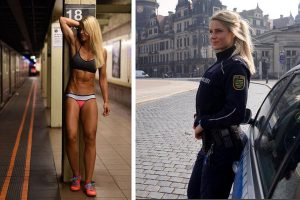 Sexy Cop Goes Viral